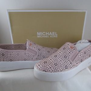 Michael Kors Soft Pink Trent Slip On